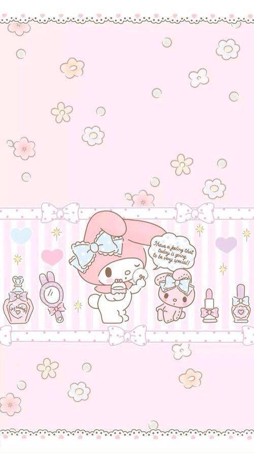 Hello Kitty My Melody WallpaperSanrio