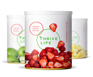 Thrive Life - Shop #freezedriedraspberries