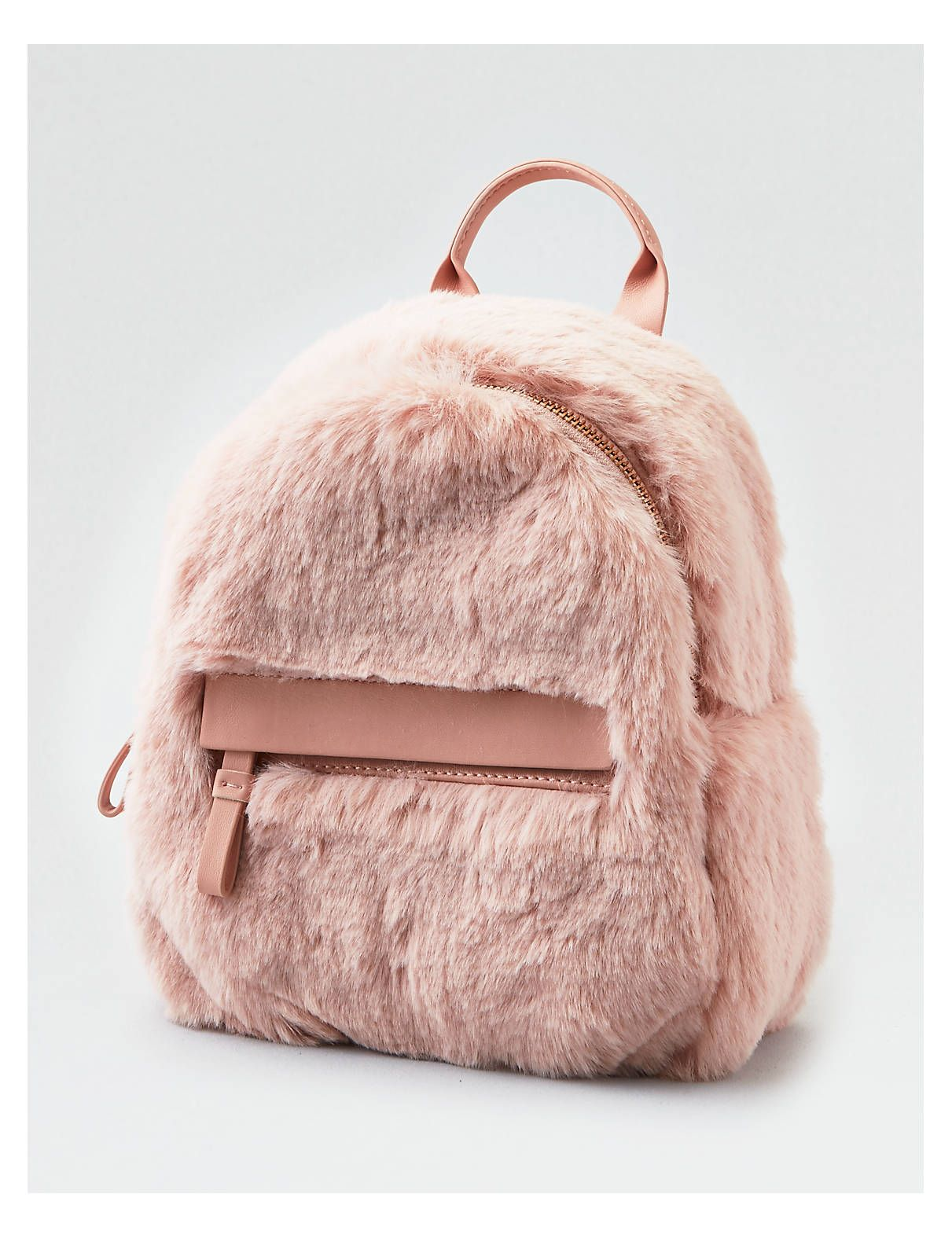 1cdf96fdd49e Display product reviews for AEO Faux Fur Mini Backpack