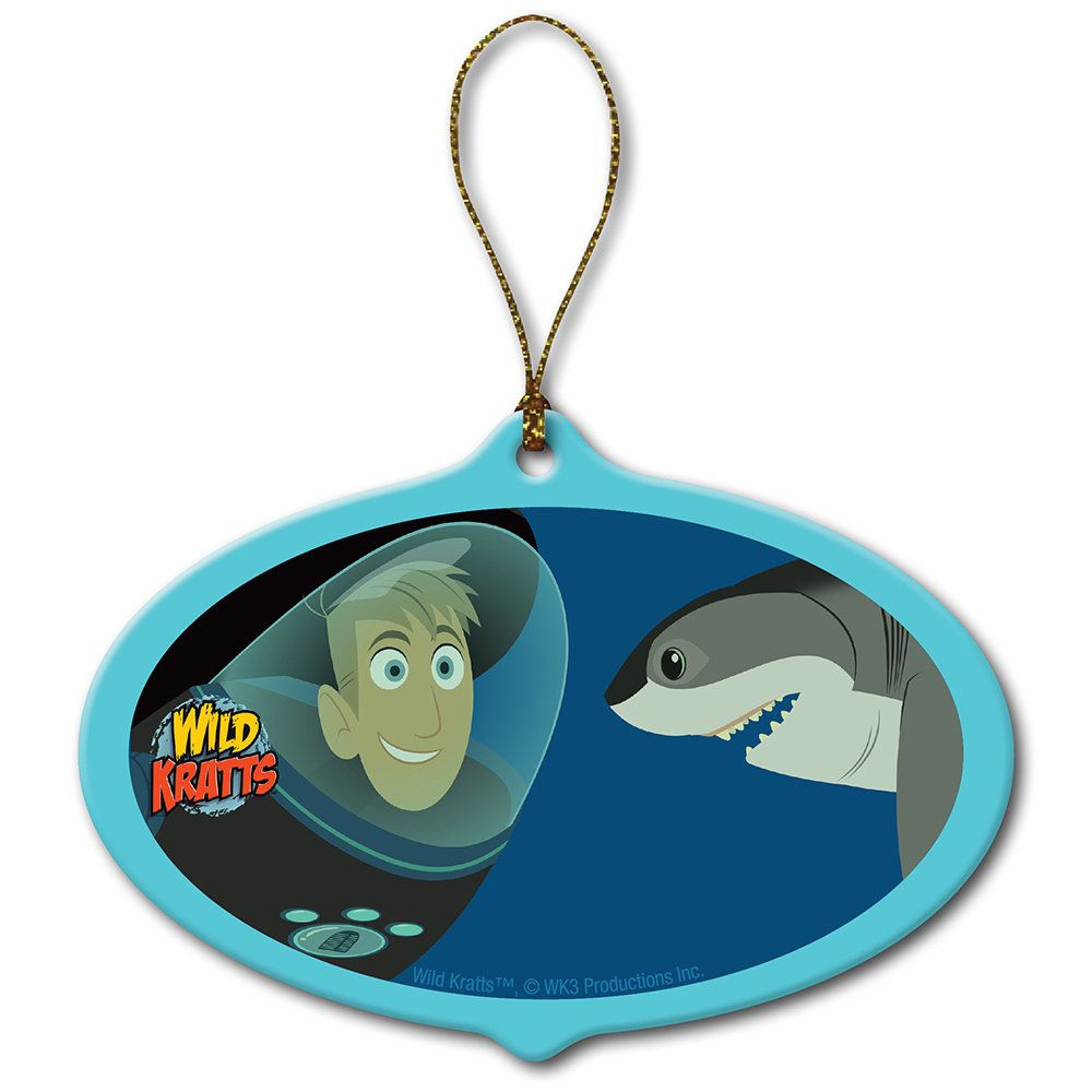 Wild Kratts Underwater Adventure Shark Ornament (Teal), Blue ...