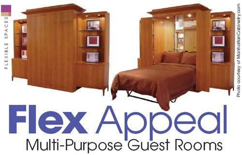 Best Flex Appeal Multi Purpose Guest Rooms Design Basics 400 x 300