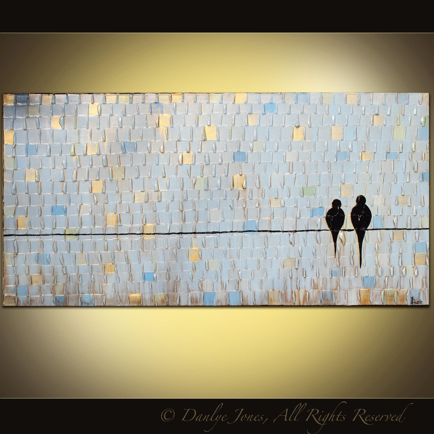 Abstract painting LARGE wide abstract original acrylic on canvas ...