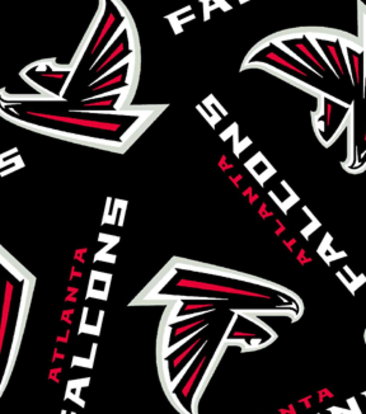 Atlanta Falcons Fleece Fabric In 2020 Atlanta Falcons Falcons Atlanta