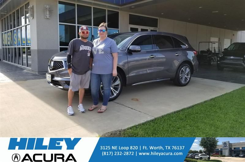 #HappyAnniversary to Kimberly and your 2018 #Acura #MDX from Everyone at Hiley Acura!