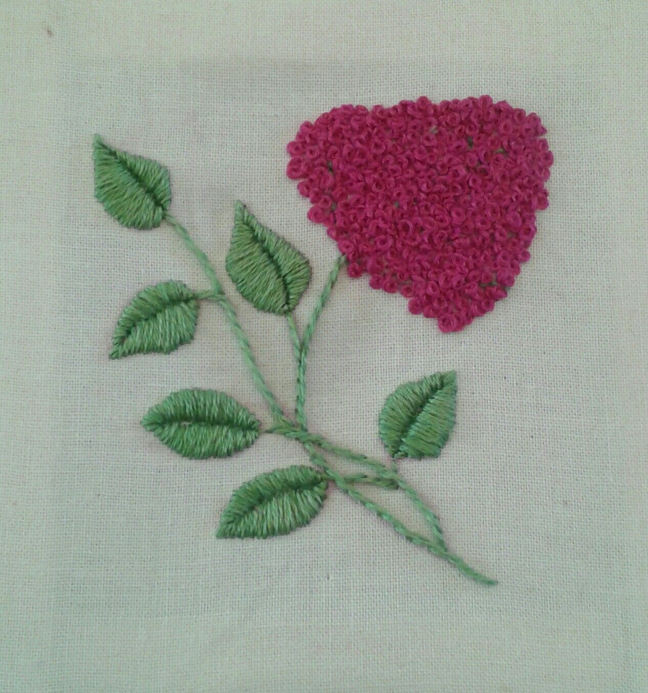 embroidery flower