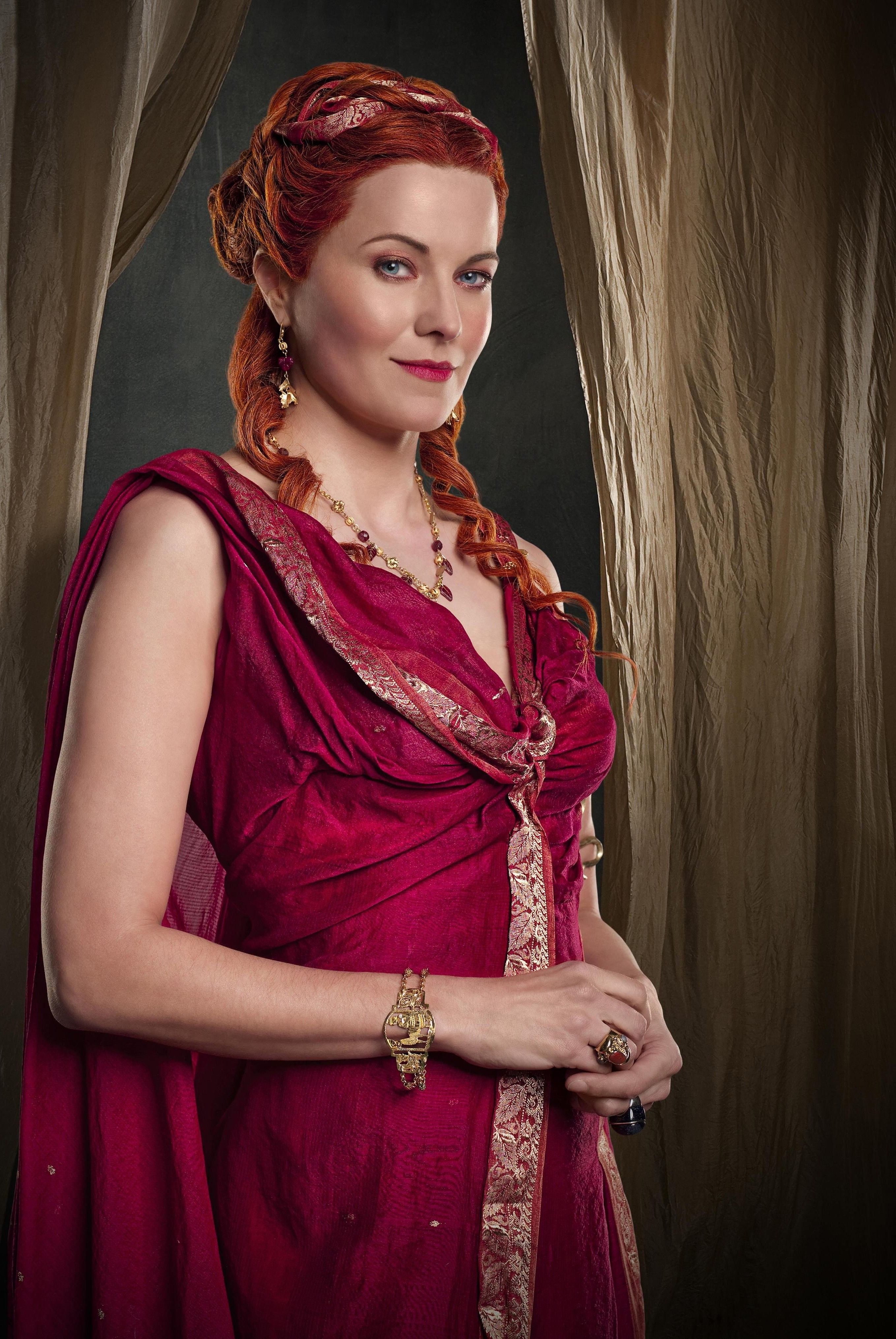 Lucretia | Spartacus Costumes ~ Blood & Sand | Pinterest ...