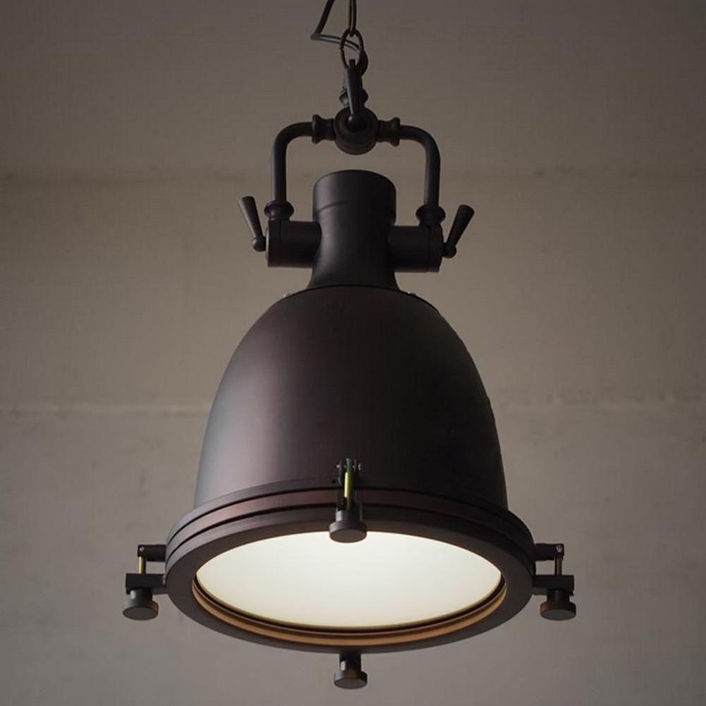 Vintage Rustic Metal Lampshade Edison Pendant Lamp Lights Retro Lustre Shade Han Vintage Industrial Lighting Industrial Pendant Lights Vintage Pendant Lighting