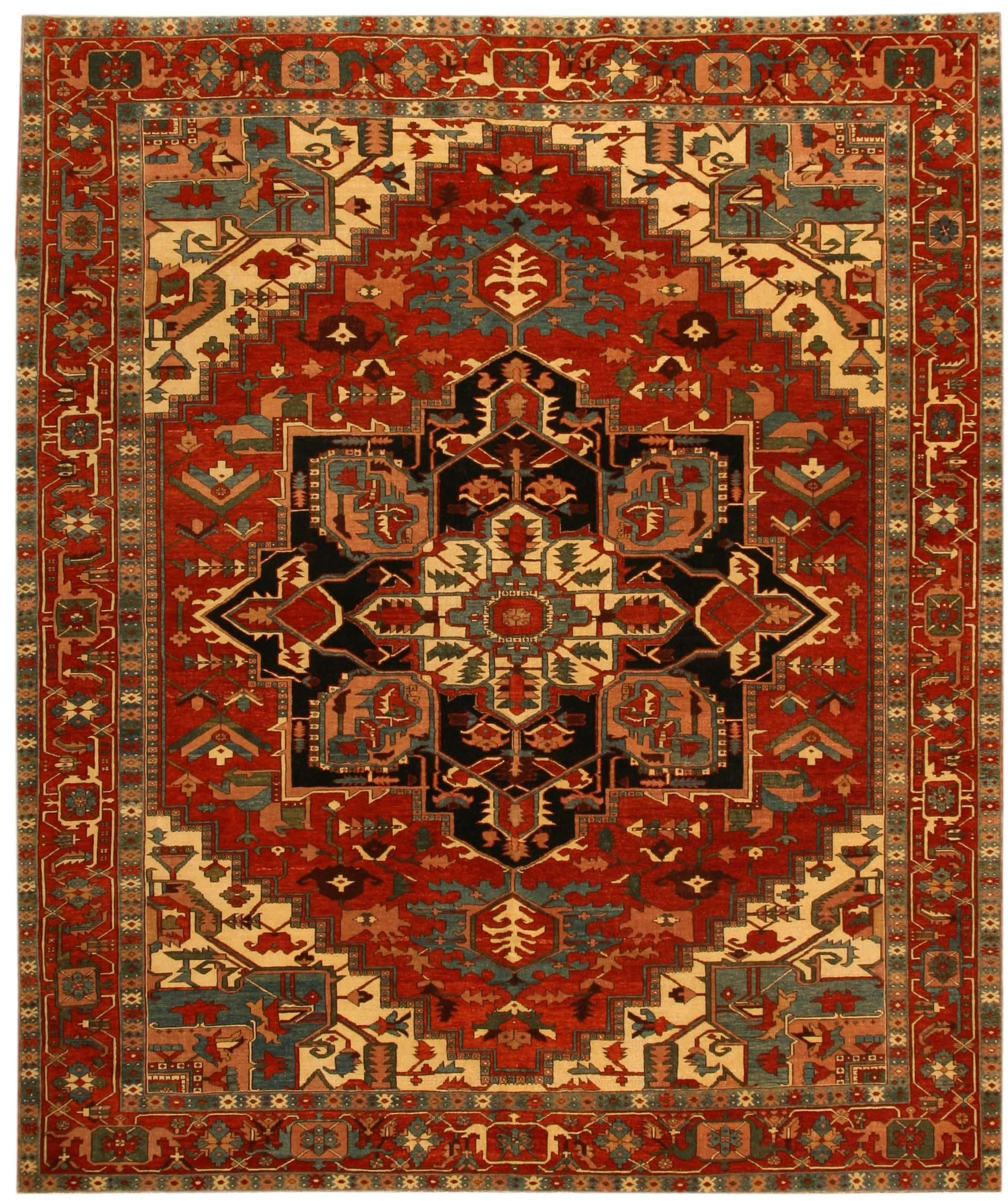 Geometry And Patterns This Hand Woven Turkish Rug Shows The