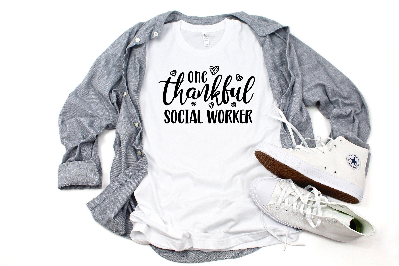 tee Social Worker Shark Unisex Sweatshirt