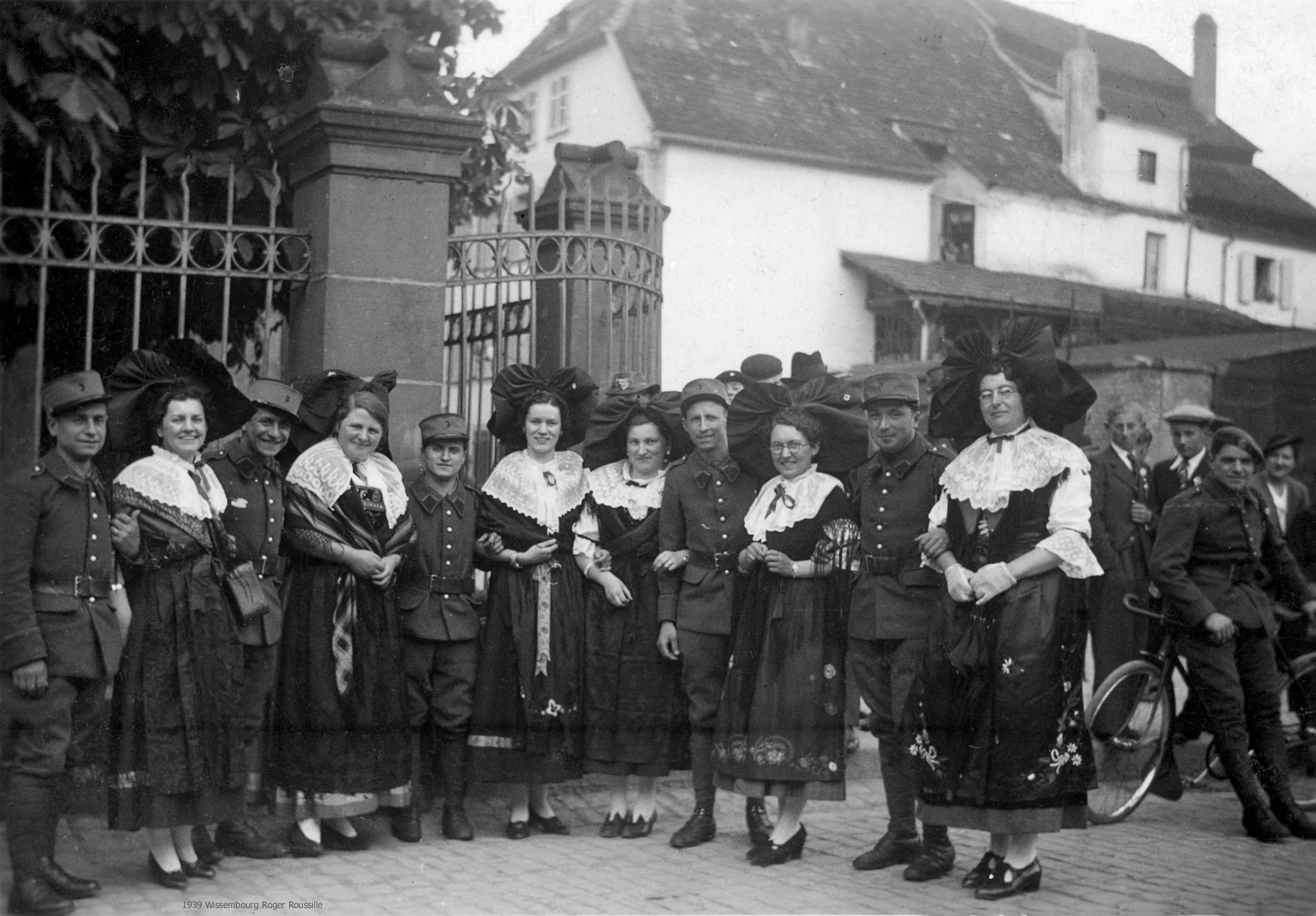 1939 Wissembourg Photos Anciennes Photos Ancien