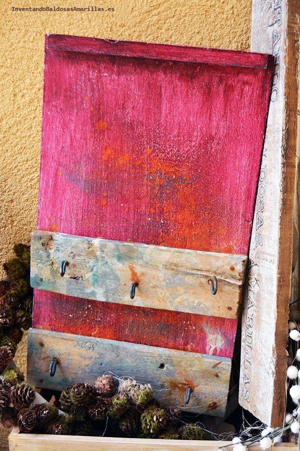 Inventando el Finde 20: Oxidar madera