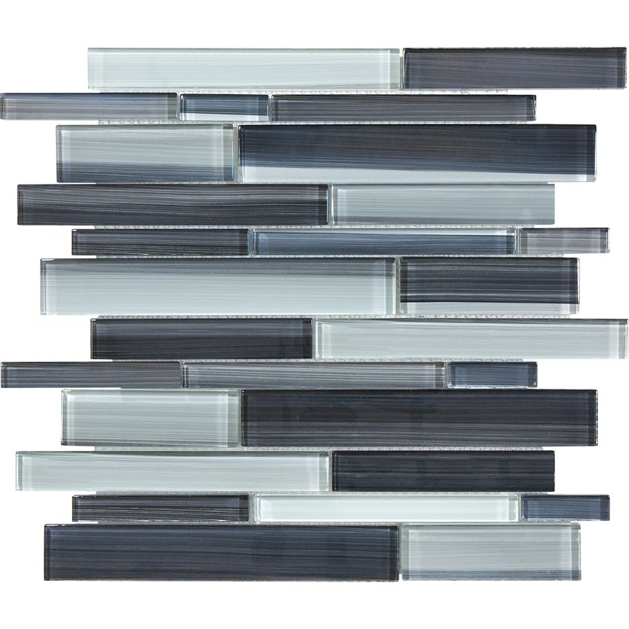 - Shop Skyline Glass Mosaic Wall Tile (Common: 12-in X 13-in; Actual