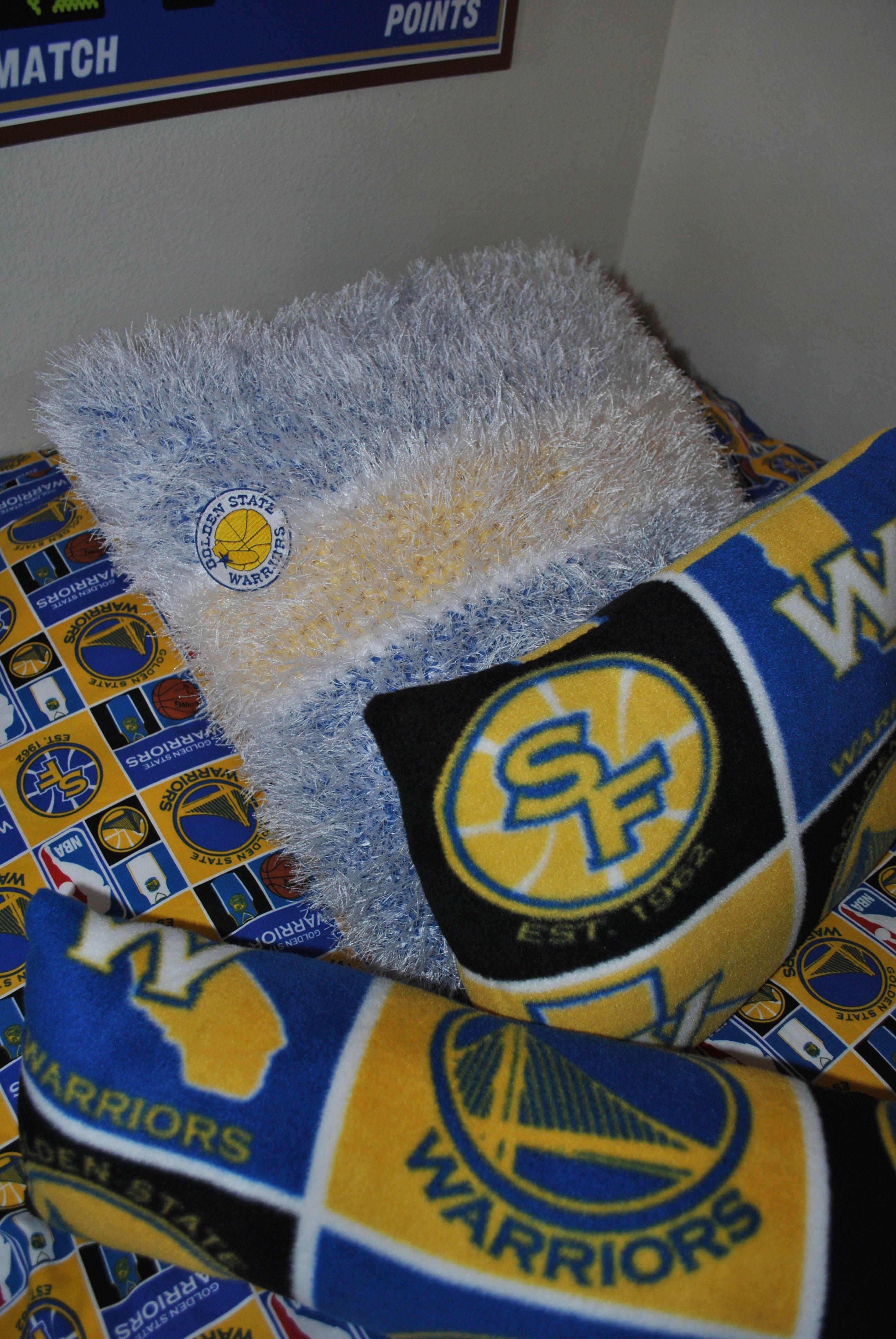 Golden State Warriors Bedroom Pillows Jake S Golden