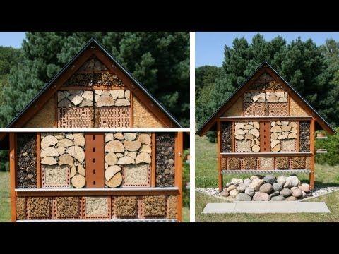landhaus blog insektenhotel f r den garten selber bauen video anleitung und beispielbilder. Black Bedroom Furniture Sets. Home Design Ideas