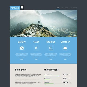 travel website templates - Google Search | way to trip | Pinterest ...