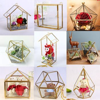 Source high quality crystal centerpieces for wedding table glass source high quality crystal centerpieces for wedding table glass geometric terrarium on mibaba junglespirit Choice Image
