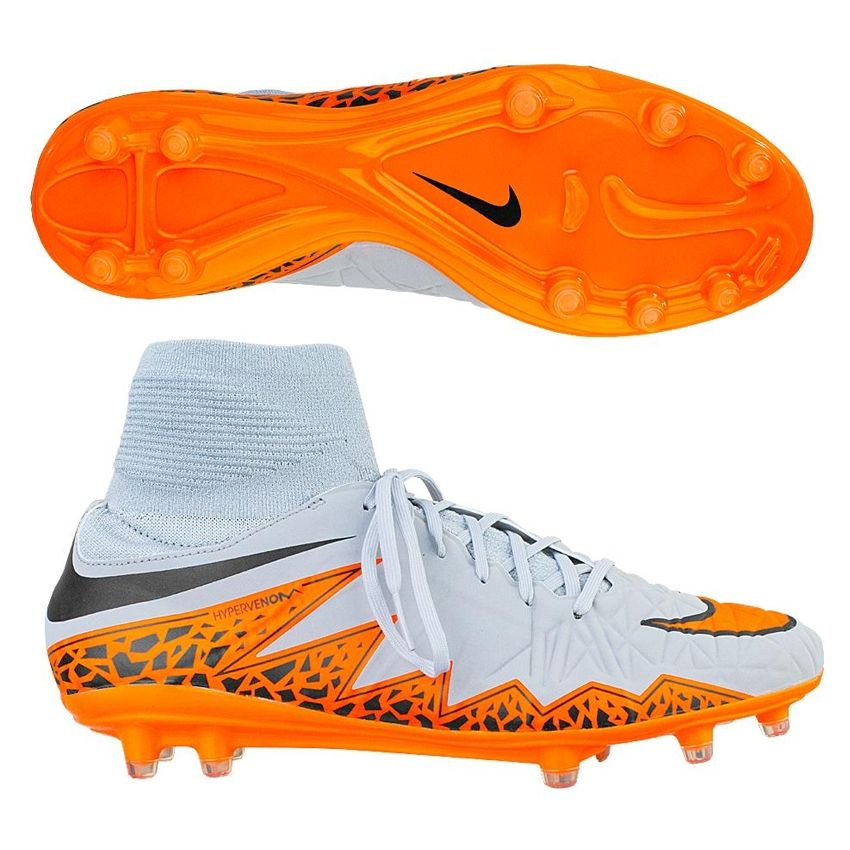 The Nike Hypervenom Phatal II soccer cleats feature the uber popular  dynamic fit collar at a