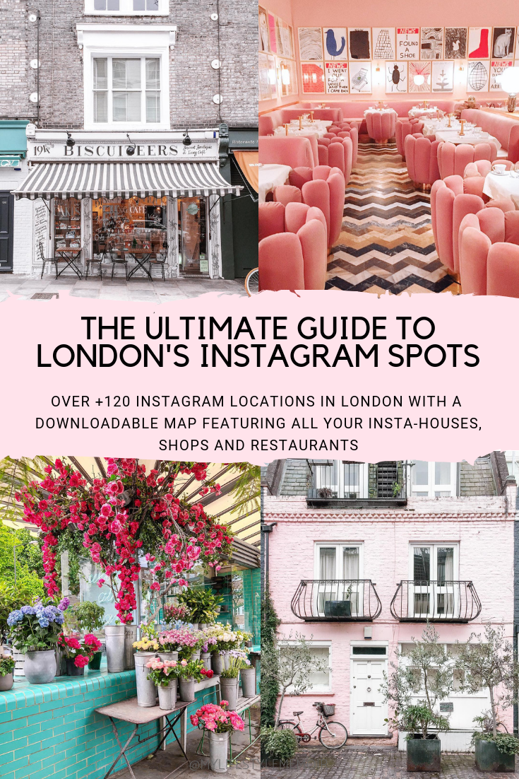 A GUIDE TO LONDON INSTAGRAM SPOTS #travelengland