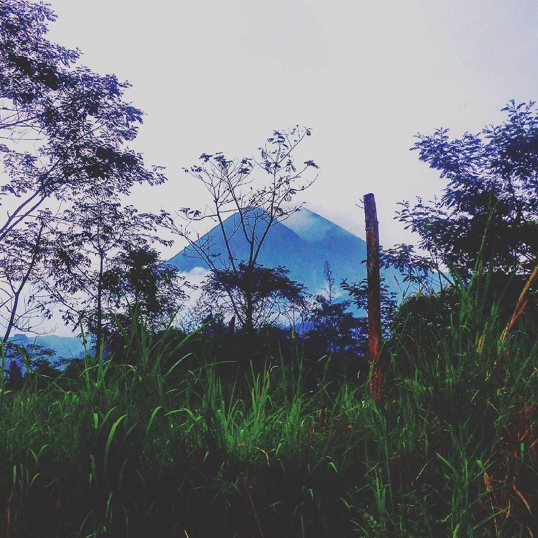 Next time. Next time I'll be at the top that mountain. #merapimountain #gunungmerapi #volcano #merapivolcano #view #landscape #scenery #nature #yogyakarta #travel #likeforlike #like4like #followme by ichyntia_