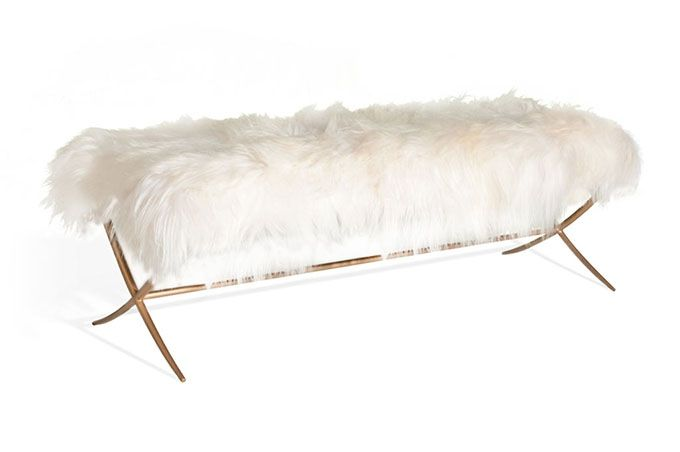 Design Trend Fuzzy Furniture Furniture Ottoman Bench