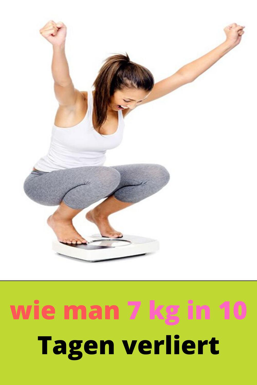 Wie man in 10 Tagen mit Übungen Gewicht verliert