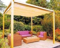 20 Diy Outdoor Curtains Sunshades And Canopy Designs For Summer Decorating Diy Patio Backyard Patio Canopy Outdoor