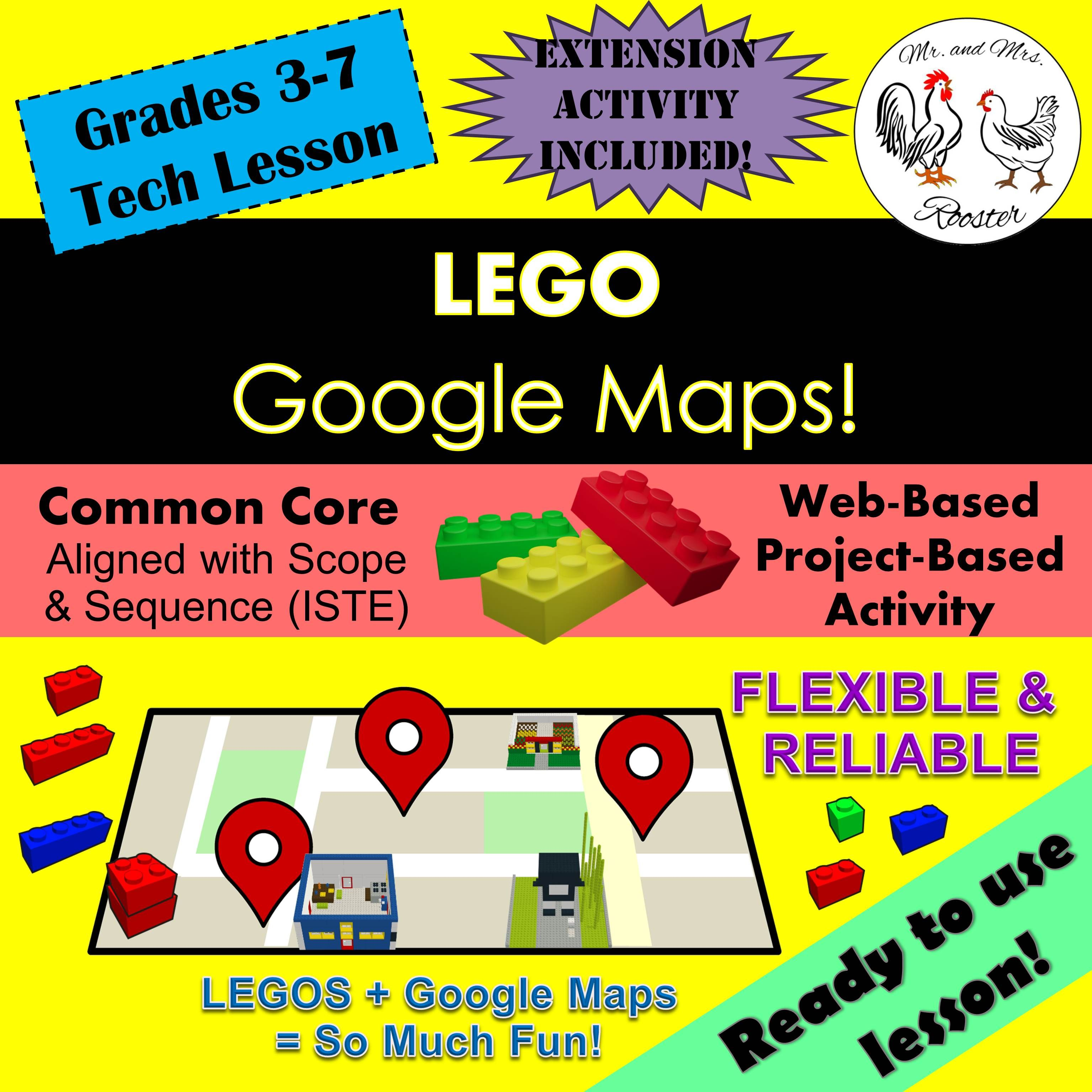 Build Lego Buildings On Google Maps In This Lesson You
