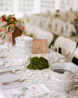 "See the ""Location Table Cards"" in our Unique Wedding Table Numbers gallery"