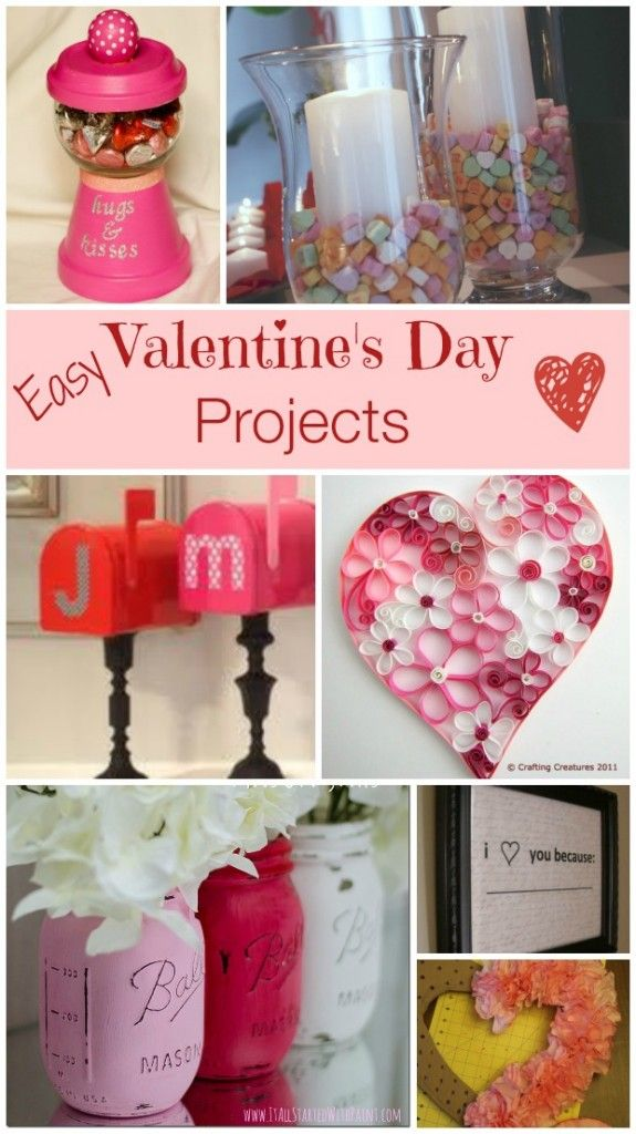 Easy Valentines Day Projects
