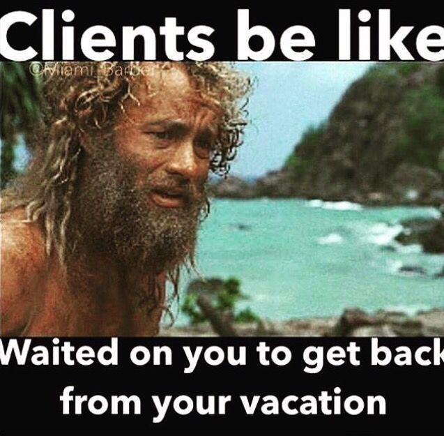 Haha vacation time! | Hair Don'ts & Hair Humor | Pinterest ...