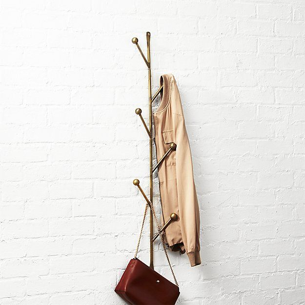 Vertical wall mounted coat rack Wall Mount Shop Barker Vertical Wall Mounted Coat Rack Sculptural Storage Supports Hats Coats Bags On The Vertical Coconutconnectionco Barker Vertical Wall Mounted Coat Rack Furniture Decor