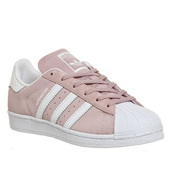 Shoes women � Adidas Superstar 1 Pink White Snake - Unisex Sports