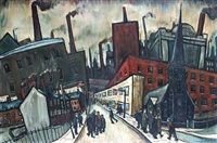 The city by William Ralph Turner - 1961.