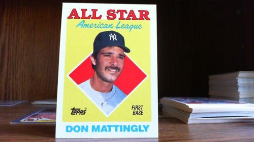 Topps 1987 American League Leaders Don Mattingly Card 386 Yankees Don Mattingly American League League
