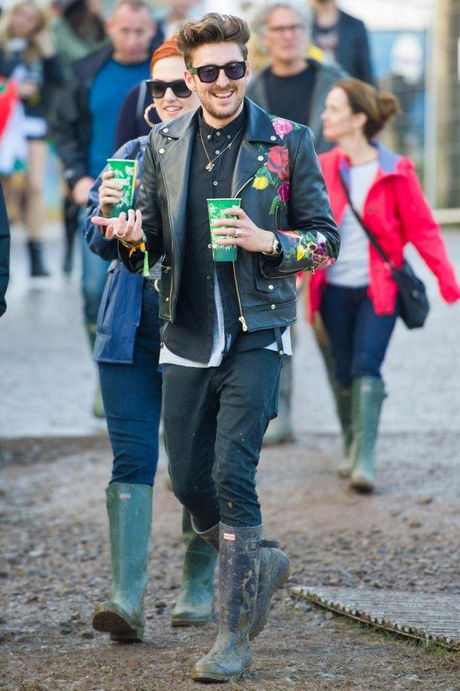 Glastonbury 2014 Wearing Hunter Rain Boots Fashion