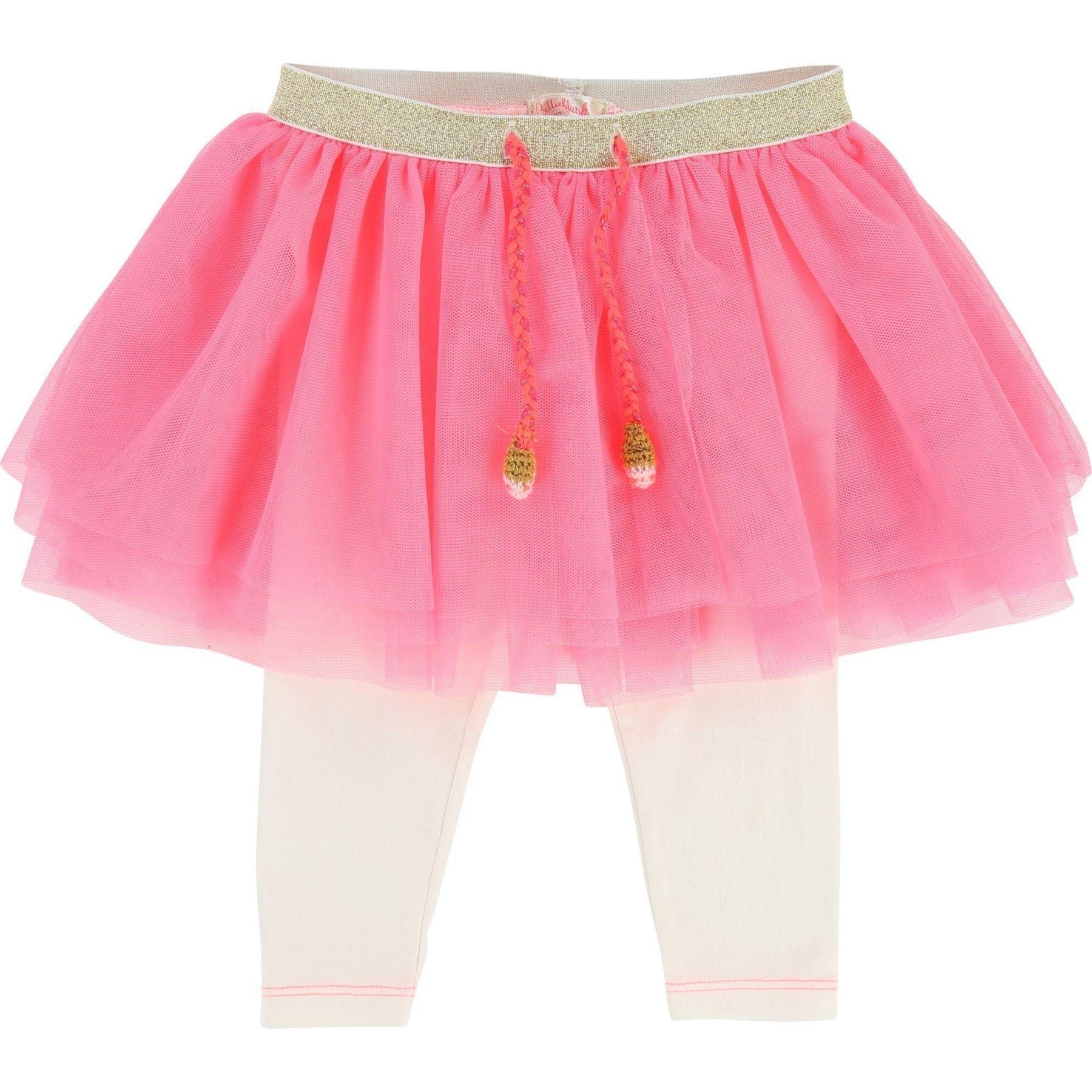 Cet ensemble jupe en tulle et legging bébé fille en jersey est la pièce  maîtresse pour un look girly et craquant. A noter, la taille élastiquée du  jupon ... 413591ab1202