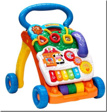 Walmart Rollback Deal: VTech Sit-To-Stand Learning Walker ...