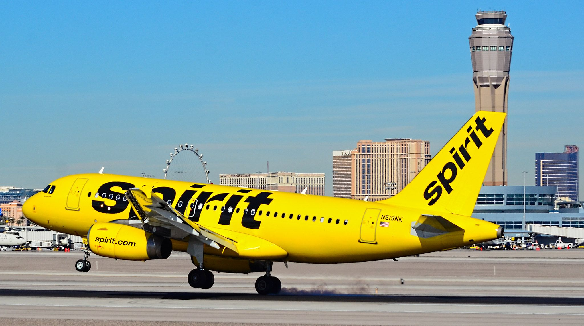 N519NK Spirit Airlines Airbus A319132 s/n 2723 in 2020