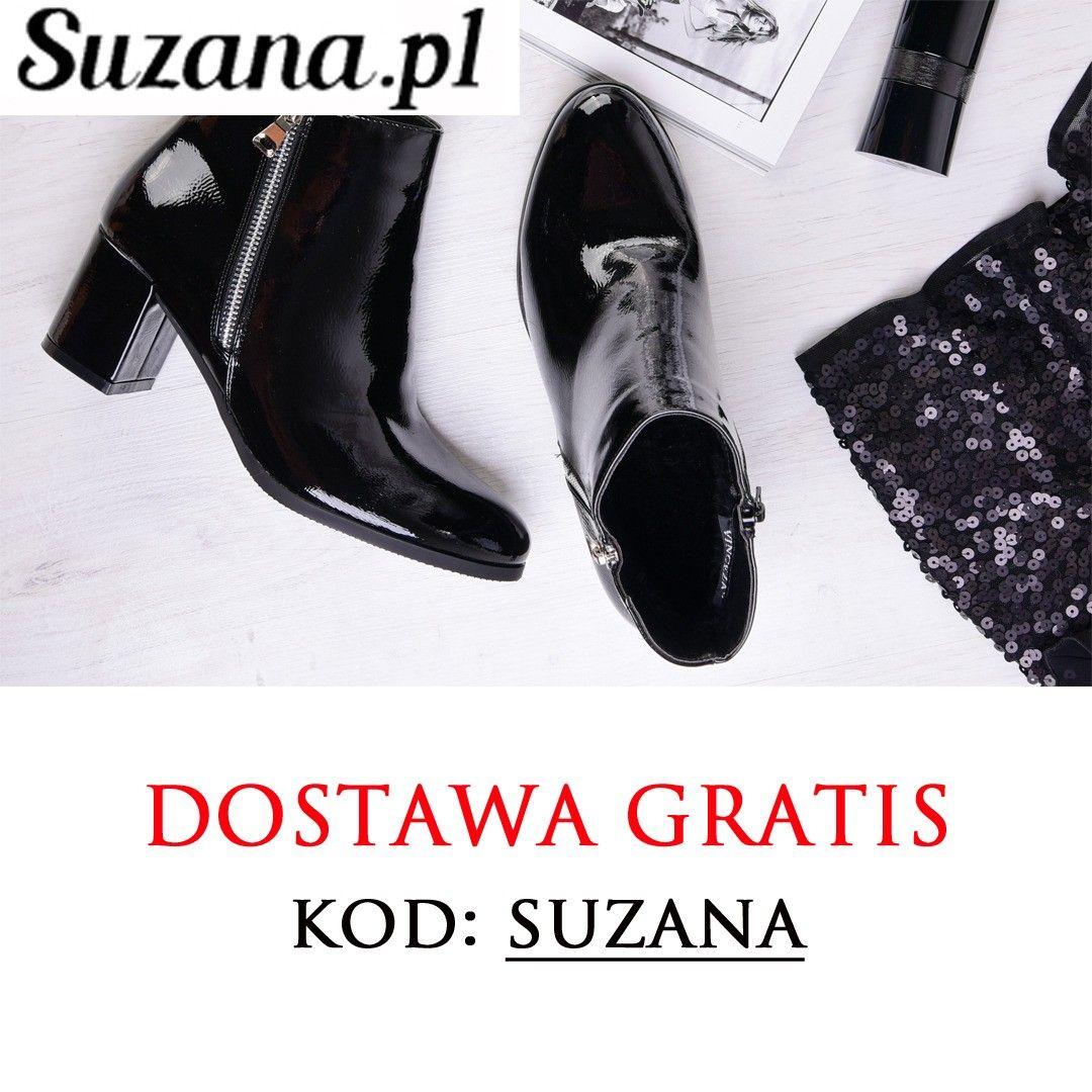 Dostawa 0 Zl Wpisuj Kod Suzana Promocja Trwa Do 28 Pazdziernika Https Suzana Pl Autumn Shoes Ankle Boot Boots