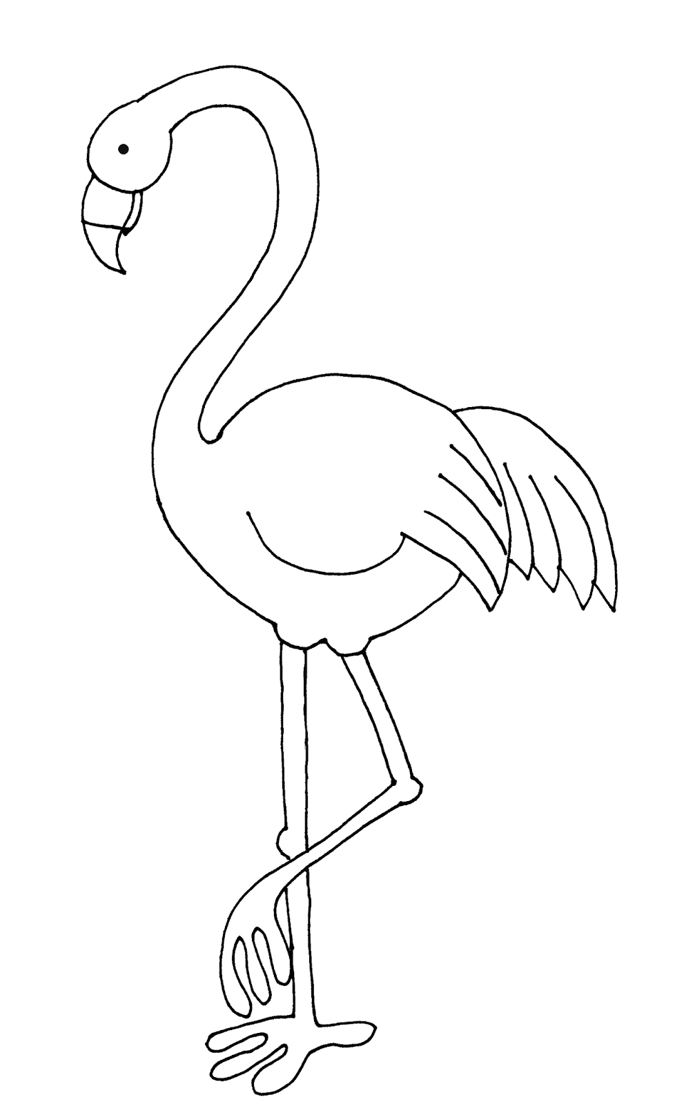 Flamigo Come On Everybody Knows At Least One Person With A Pink Flamigo In Their Yard Digital Stamps Free Flamingo Coloring Page Unicorn Coloring Pages