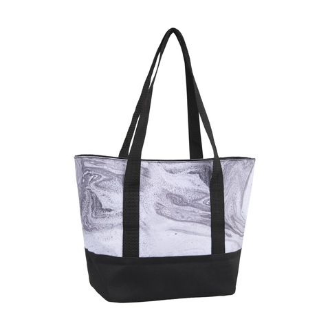 Insulated Bag Marble Look Kmart