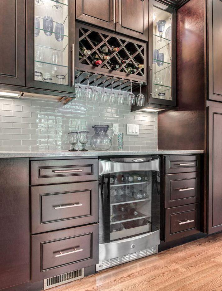 Espresso Maple | Maple kitchen cabinets, Custom kitchen ...