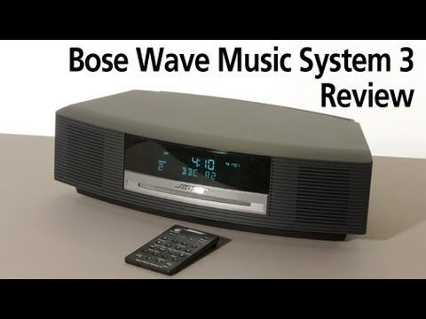 bose wave music system 3 review gadgets pinterest music system rh pinterest com Bose Multiple CD Player Bose Wave Radio CD