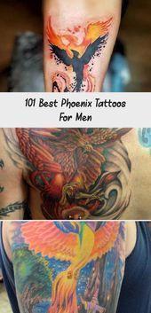 Photo of 101 besten Phoenix Tattoos für Männer – Tattoo İdeas Small Phoenix Tattoo – B…