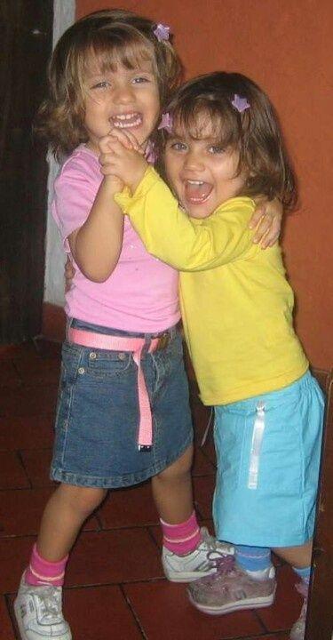 Las hermanitas mas felices... #Camila y #Valeria