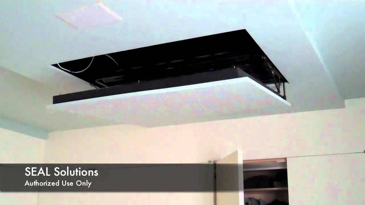 Seal Solutions Motorized Flip Down Auton Tv Lift Hanging Tv Tv Hanging From Ceiling Tv Lift Cabinet