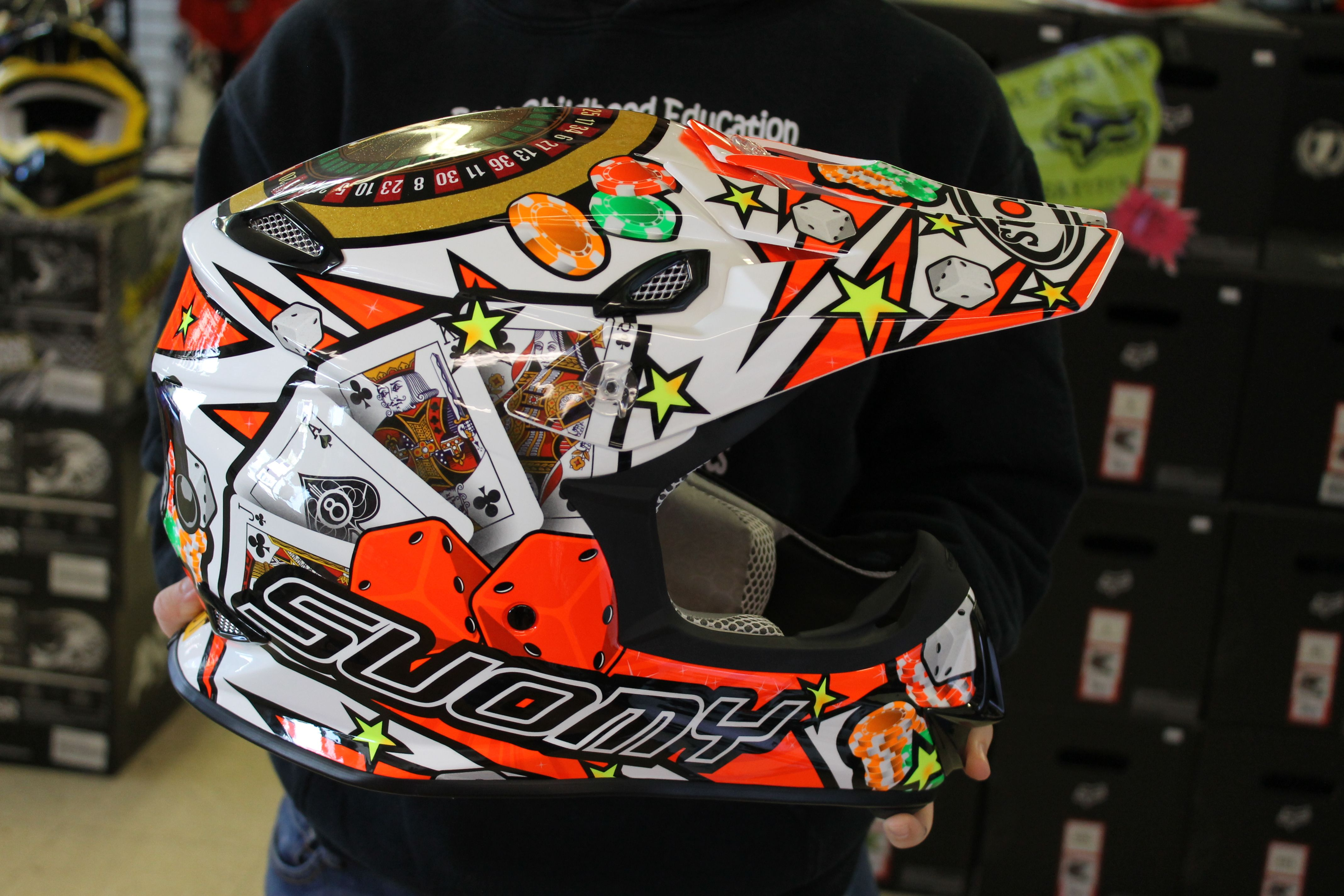 WE NOW CARRY SUOMY Check out this sick helmet We have more