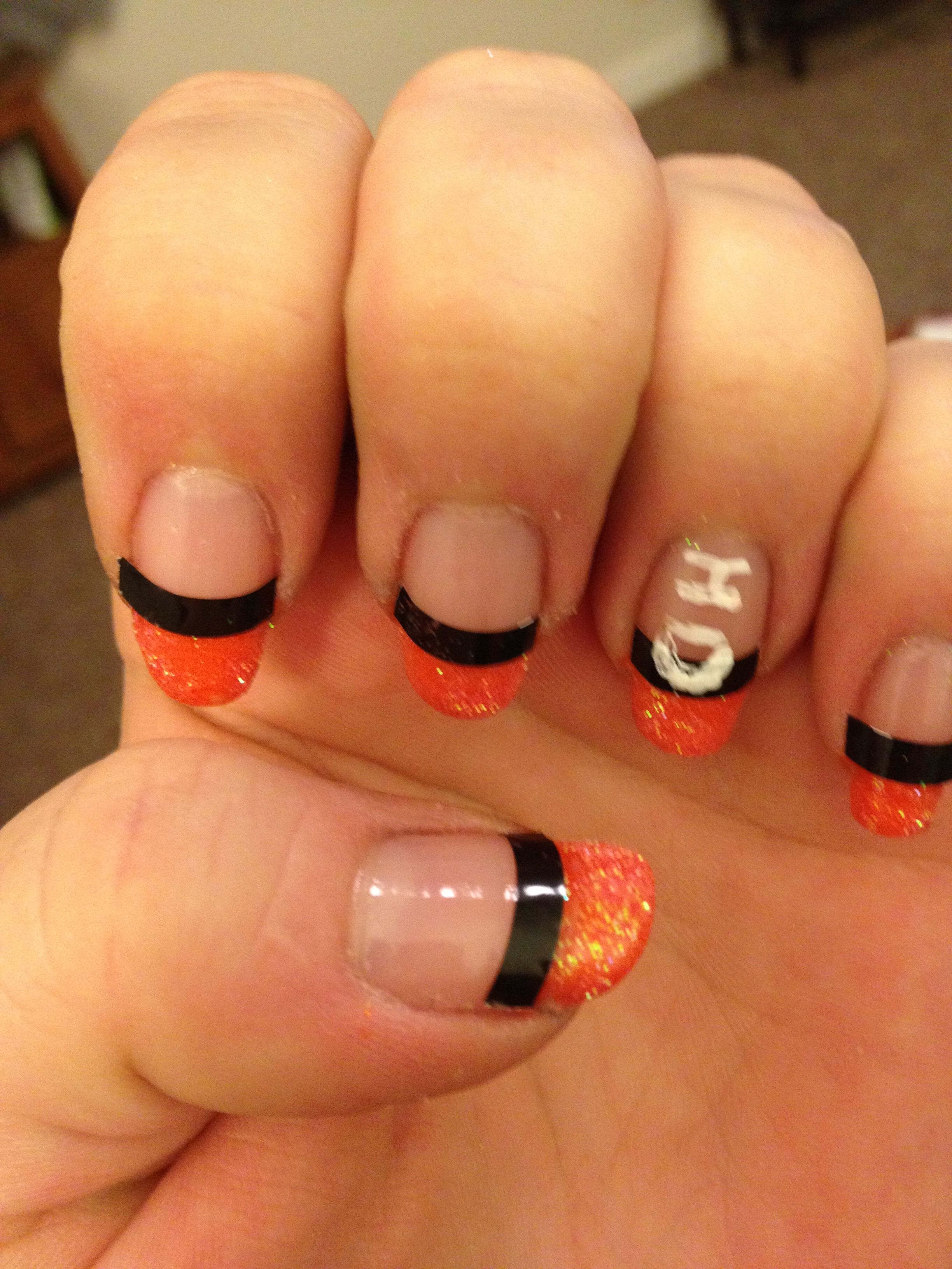 My Harley Davidson Nail Art In Horror Of My Cousin Charlierip