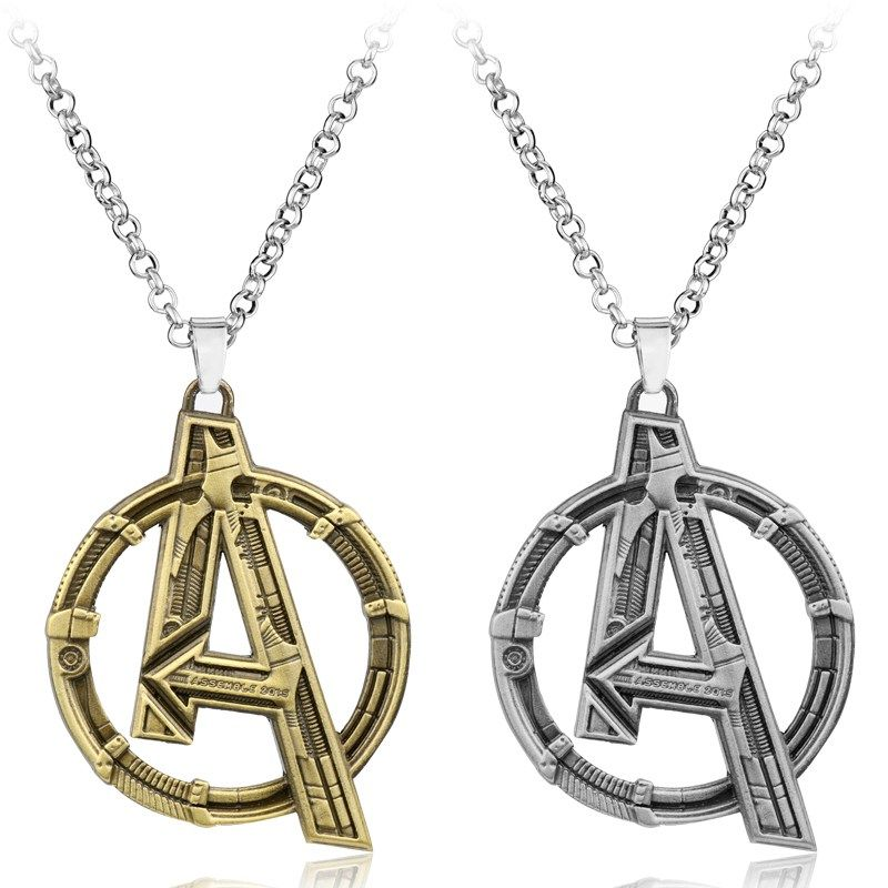 Avengers age of ultron symbol pendant necklace universo marvel avengers age of ultron symbol pendant necklace aloadofball Images