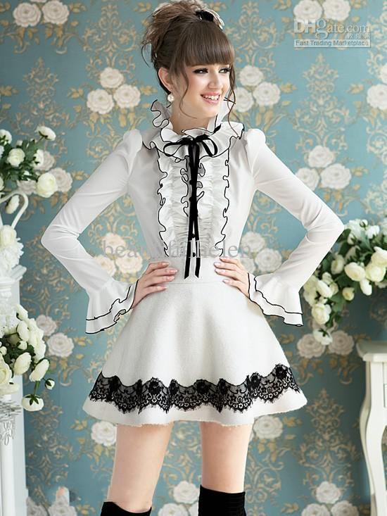 85fd57d1ac5 Модные блузки рябить кофточки женские блузы Кружева Блузки с длинным  рукавом Блузка белые блузки Женщины топы сексуальный топ леди бантом 01